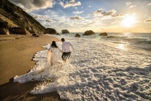 Behind The Scenes - Trash The Dress Lefkada