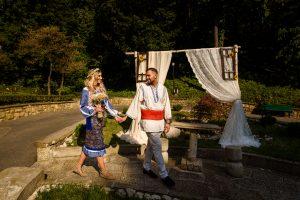 cununie civila costume traditionale romanesti