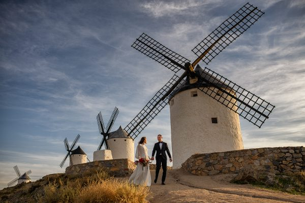 Trash The Dress molinos de consuegra